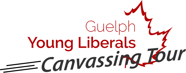 Guelph Young Liberals Canvassing Tour